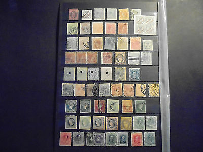 Spain stamp mix, used