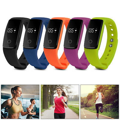 ID107 Bluetooth Wristband Smart Bracelet Watch Heart Rate Pulse Tracker Fitness