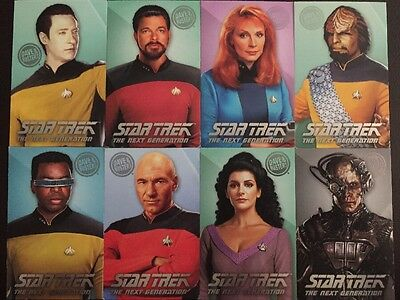 Dave And Busters Star Trek Complete Set Card Coin Pusher Game Rare