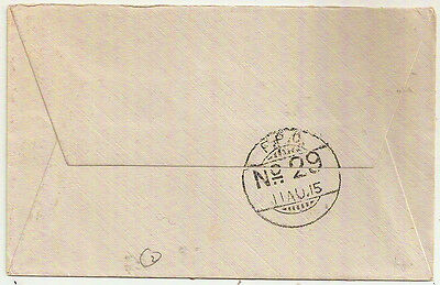 1915 India Fpo 29 Oas Cover Censored Indian Expeditionary Force Cachet- Gb