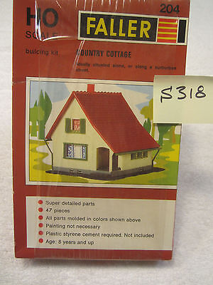 S318 Faller HO #204 Country Cottage Kit