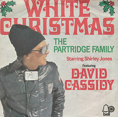 "'WHITE CHRISTMAS' By DAVID CASSIDY & THE PARTRIDGE FAMILY 7"" Vinyl Single"
