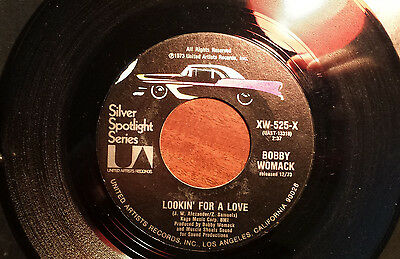 Bobby Womack ‎– Lookin' For A Love / Nobody Wants You When You're Down And Out