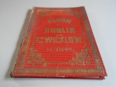 antique panoramas of Dublin and county wicklow Vintage ephemera