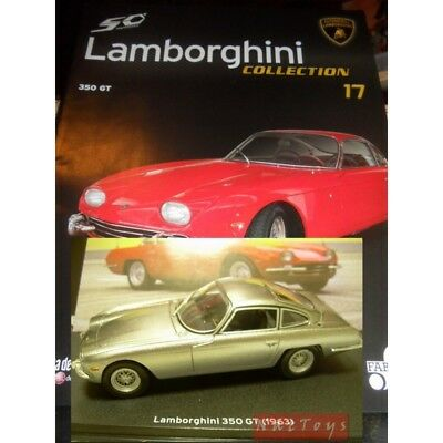 1 43 lamborghini collection 50 350 gtv 1963 die. Black Bedroom Furniture Sets. Home Design Ideas