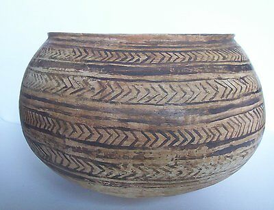 Large Prehistoric Indus Valley Bowl