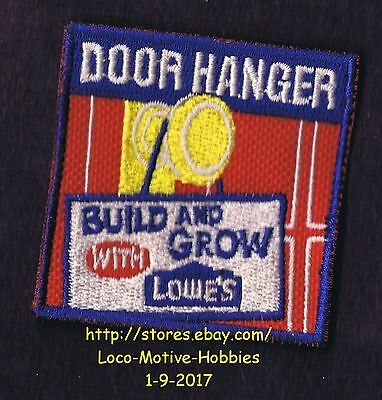 LMH PATCH Badge DOOR HANGER Thanksgiving LOWES Build Grow Kids Clinic Sign