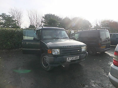 1998 Land Rover Discovery Tdi Green Hi Lux