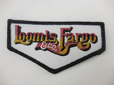 "10x Vintage Loomis Fargo & Co 4"" Advertising Truck Uniform Hat Patches NEW"