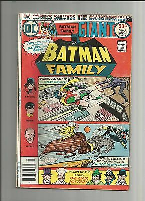 Batman Family #6 Giant Sized FIRST APPEARANCE JOKERS DAUGHTER  (1975 1st Series)