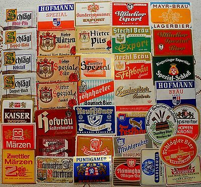 Beer  Labels Collection: Austria -37 Different