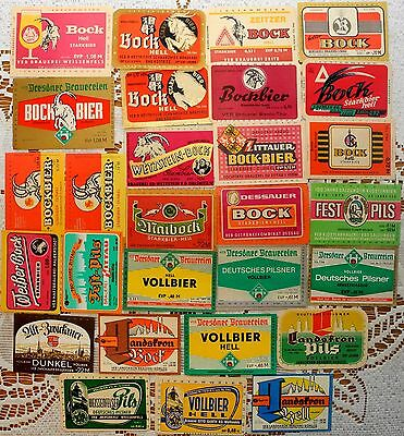 Beer  Labels Collection: Germany (Democratic Republic) -28 Different