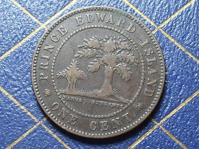 1871 Prince Edward Island Large Cent Queen Victoria
