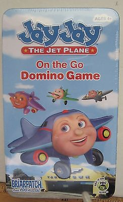 JAY JAY The Jet Plane Domino Game On the Go New 2004 Briarpatch Ages 4+