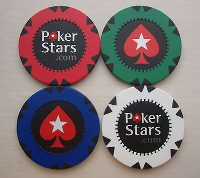 Choose 2 New Official Pokerstars.com Poker Casino Chips Las Vegas Wsop Wpt