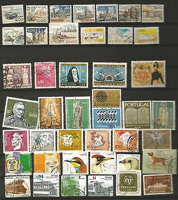 Portugal -  Nice Lot Of Used Stamps In Good Condition.