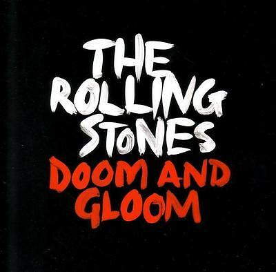 """ROLLING STONES Doom And Gloom Black Friday RSD etched vinyl 10"""" SEALED/NEW"""