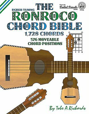 Ronroco Chord Bible - 1,728 Chords (New 2016 Edition)