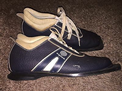 Vintage Alpina Nordic Norm Cross Country Skiing Ski Boot / Shoes Size EU 45