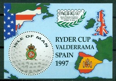 Isle of Man Scott #756 Variety MNH Ryder Cup Golf Map Sports W/O VALUE $$