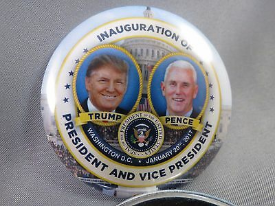 Wholesale Lot Of 12 Trump Pence Inauguration Dc President Buttons 01.20.17 Seal