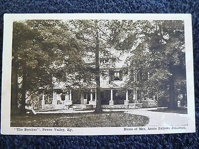 1932 Home of Mrs. Annie Johnston in Pewee Valley Ky Kentucky PC