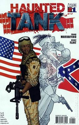 Haunted Tank (2008 DC/Vertigo) #1B FN