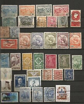 Portugal  1880-1925.   Stamps In Good Condition.