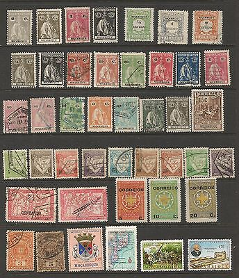 Portugal .  Mozambique  Stamps.