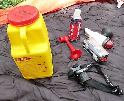Safety Equipment for yacht with grab bag ($170 worth to buy)