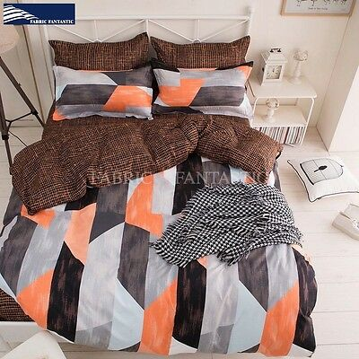 FINDIA King Size Bed Duvet/Doona/Quilt Cover Set New