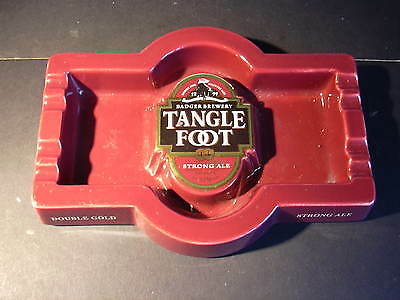 Ceramic ashtray - Badger Brewery Tanglefoot Strong Ale