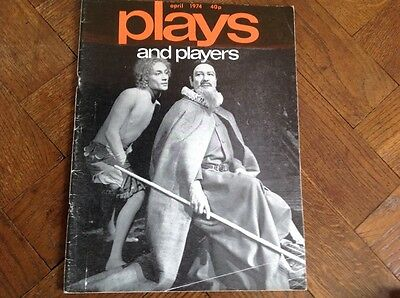 April 1974,plays And Players Magazine,  Playtext,ashes Part Iii,by David Rudkin