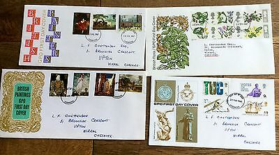FIRST DAY COVERS 1960's