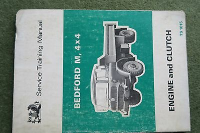 Bedford Trucks MJ MK (TK) Workshop Service Manual TS1084 engines & clutches
