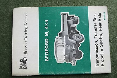 Bedford Trucks MK MJ (TK) Workshop Service Manual TS1016 Transmission & Axle