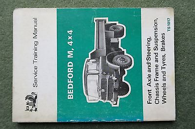Bedford Trucks MK MJ TK Workshop Service Manual TS1017 Axle suspension steering