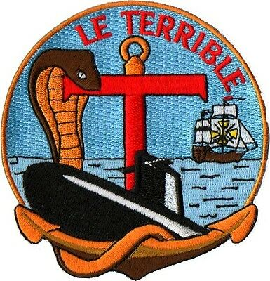 Sous-Marins -  S619 Snle Le Terrible Equipage Rouge