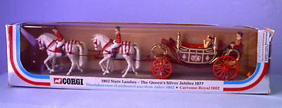Original Corgi Toys 1902 State Landau The Queen's Silver Jubilee No.41 In Box