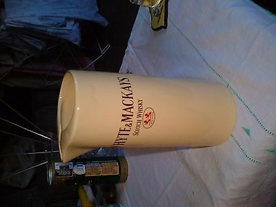"Collectors China Water Jug Advertising ""whyte & Mackay Scotch Whisky"".wade Pm."