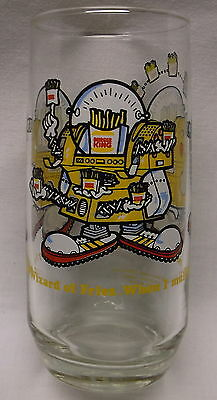 Burger King Wizard Of Fries Glass 1979