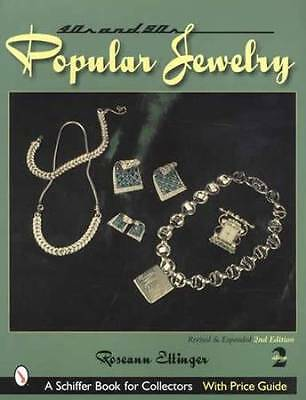 1940-50s Vintage Jewelry Collector ID Guide incl Rhinestone Costume & More