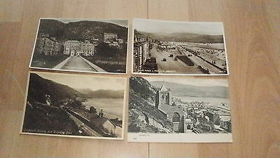 4 x Vintage PC's Incl RP Barmouth, Merionethshire, Wales. Unposted