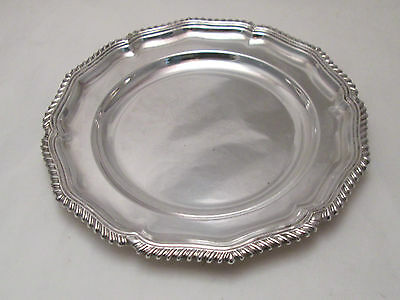 A Silver Plated Platter / Plate by Collins & Co - c1900 - Classic Design