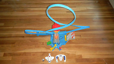 GeoTrax AirPlane High Flyin Fisher Price Airport Flying Plane Remote Control Toy