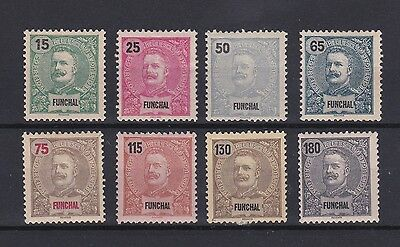 Portugal - Funchal Nice Complete Set MH 2
