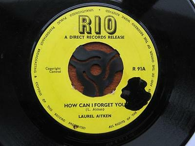 Laurel Aitken / How Can I Forget You / Rio  1966