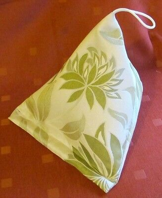 BOOK PILLOW ~ Tablet iPad Rest ~Hand made. Green. Ideal gift