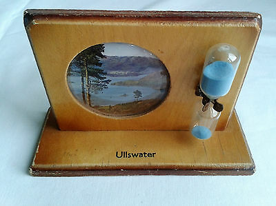 Vintage 70's Priory Ullswater Mounted Egg Timer.