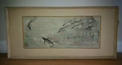 Stunning Original Chinese Painting by Renowned Artist Chien Ying Chang 1913-2004
